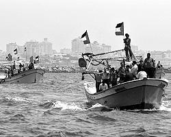 Затримання «флотилії світу» спецназом Ізраїлю - зі стріляниною, сутичками, кров'ю - наробило шуму у глобальних ЗМІ (фото: Reuters)